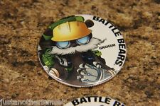 SDCC Button Badge Pin app Promo Battle Bears GRAHAM zombies royale -1 new