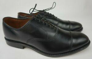 Allen Edmonds Park Avenue Black Leather Oxfords Shoes Size 9 E $385