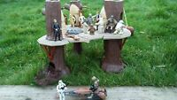 Vintage Kenner Star Wars Ewok Village 1983 Playset Ewok Action Figures Toy