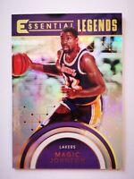 Panini Essentials 2017-18 card carte NBA Los Angeles Lakers EL-25 Magic Johnson
