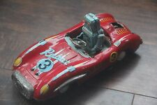 Space Patrol Tin Robot Car Propeller Litho Vintage Asahi ATC Japan Free Shipping