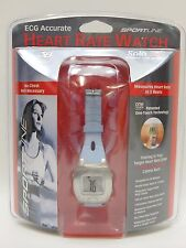 Sportline ECG Accurate Solo 925 Women's Heart Rate Monitor Watch New Sealed Blue