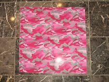 "Wholesale Lot 3 22""x22"" Redneck Pink Camouflage  Camo Cotton Bandana"