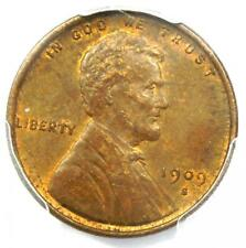 1909-S VDB Lincoln Wheat Cent Penny 1C - PCGS MS62 (BU UNC) - Rare Key Date!