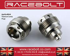 Aprilia RSV4 Sump Plug with Magnet - Racebolt Titanium