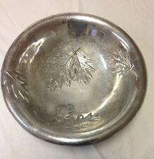 """Mariposa Brillante Aluminum Large Leaf Bowl 15.5"""""""