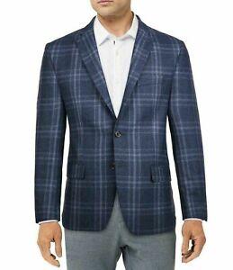 Lauren Ralph Lauren Lexington Blue Plaid Sport Coat 42R 42 Classic Fit $375