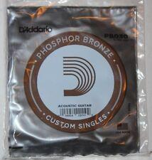 D'ADDARIO  5  Cordes Guitare Acoustique  - Phosphore Bronze - PB030