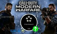 Call of duty Modern warfare leveling servive PS4/PC/Xox