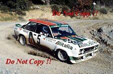 Walter Rohrl ALITALIA FIAT 131 ABARTH vincitore ACROPOLIS RALLY 1978 fotografia 8