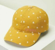 O'Neill LA DEE DA Girls Youth 100% Cotton Adjustable Metal Slider Hat Gold NEW