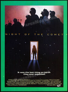 NIGHT OF THE COMET__Orig. 1984 Trade Print AD / advert__CATHERINE MARY STEWART