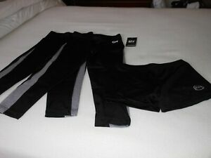 Gymnastics Competition  Outfit by GK Elite & Zone  Size S  Shorts- 2 Leggings