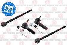 For Ford Contour 1997-2000 Front Left Right Outer Inner Tie Rod Ends Steering