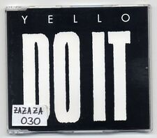 Yello Maxi-CD Do It - German 4-track CD - 858 695-2