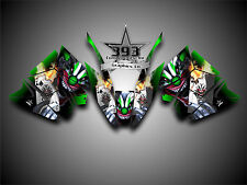 Arctic Cat ProClimb ProCross Graphics Kit Wrap Evil Joker Green 2012 - 2017