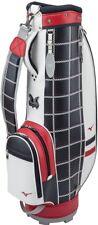 New MIZUNO Caddy Bag LIGHT STYLE NEXLITE 8.5 x 46 inch 5LJC17W200 Navy × Red EMS