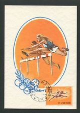SAN MARINO MK 1963 OLYMPIA OLYMPICS MAXIMUMKARTE CARTE MAXIMUM CARD MC CM d8503