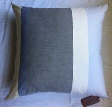 "New MISSONI Home 24 x 24"" Decorative PILLOW Gray/Yellow/Blue/Pink FREE SHIPPING"