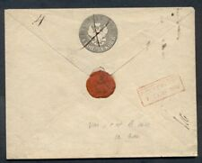 RUSSIA 1852 cover, 10+1kop black, used, red boxed date cancel, VF