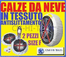 CALZE ° NEVE NEW PER PNEUMATICI GOMME AUTO CERCHI R17 R 17 205/40 215/35 215/40