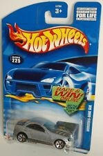 Hot Wheels 2001 Collector #225 Mercedes Benz SLK Mtflk Silver Blue 5DOTs 53754