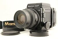 【 MINT 】 MAMIYA RB67 PRO SD + K/L KL 90mm f/3.5 L Lens 120 Film Back From JAPAN