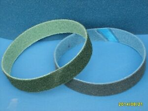 2 x 50mm x 915 mm Abrasive Nonwoven Belt ** Various Grit Options  Coarse, Medium