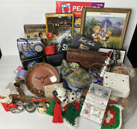 """Huge Junk Drawer Lot 45 Assorted Collectibles Vintage & Misc Items Over 8"""" Lbs"""