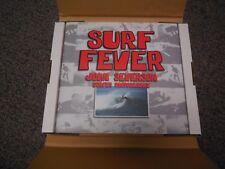 Vtg Original Surfing JOHN SEVERSON Artist Signed SURF FEVER Surf Book RARE !