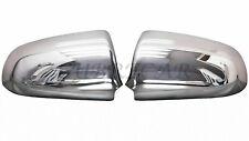 Carcasas Retrovisores cromados AUDI A4 00-08 cubiertas tapas Acero inoxid. B6 B7