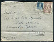 Argentine - Enveloppe de Buenos Aires pour la France en 1930 par avion -  F110
