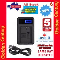 LCD1 Usb Charger Battery EN-EL19 ENEL19 For Nikon CoolPix S100 S3100 S3500 S2500
