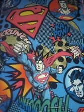 Superman The Man of Steel Fleece Tie Blanket/Throw