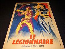 LE LEGIONNAIRE  rare affiche cinema  1953