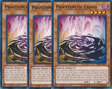 3X Phantom of Chaos -SR06-EN015--Common- Yu-Gi-Oh! Lair of Darkness
