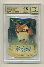 JOSE ABREU 2014 Bowman Sterling Rookie RC SUPERFRACTOR Autograph 1/1 BGS 9.5 Gem