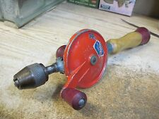 STEEL CRAFT TOOLS DEFIANCE HAND DRILL EGG BEATER EARLY 1900 TOOL