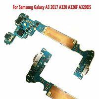Original Motherboard For Samsung Galaxy A3 2017 A320 F DS 16GB Unlock Single SIM