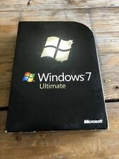 Windows 7 Ultimate, Retail Vollversion, 32+64 Bit, Deutsch mit MwSt Rechnung