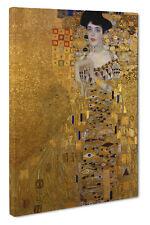 Gustav Klimt Adele Bloch-Bauer I Canvas Print Wall Art Picture Size 51x76cm
