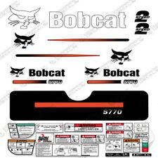 Bobcat S770 Decal Kit Skid Steer (Straight Stripes)