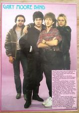 GARY MOORE BAND Ian Paice magazine PHOTO/Poster/clipping 11x8 inches