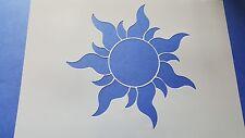 Schablone 366 Sonne Wandtattoos Wandbilder Airbrush Wanddekoration Mylar Stencil