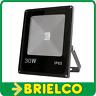 FOCO PROYECTOR LAMPARA LED 30W 220V SOPORTE ORIENTABLE 185X225X55MM NEGRO BD8935