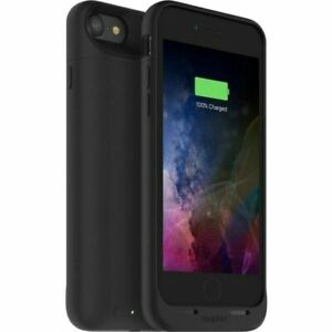 mophie 3673JPAIP7BLK External Battery Case for Apple iPhone 7 and 8 - Black