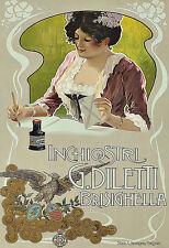 ART ad inchiostri G DILETTI inchiostro per penne stilografiche Deco Poster stampati