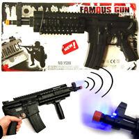 LIGHT & SOUND TOY MACHINE GUN 43cm BOYS TOY XMAS GIFT CHRISTMAS STOCKING FILLER