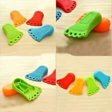 1Pc Foot Design Door Stop Wedge Jammer Doorstop Stopper Home Decor Children HI