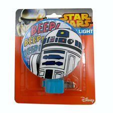 Star Wars R2-D2 plug-in Adjustable Night Light Lamp w bulb NEW